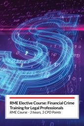 LexisNexis Financial Crime Training for Legal Professionals RME Elective Course (Online) cover