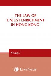The Law of Unjust Enrichment in Hong Kong  cover