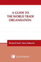 A Guide to the World Trade Organisation  cover
