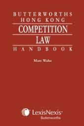 Butterworths Hong Kong Competition Law Handbook cover