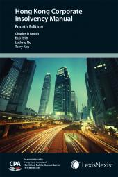 The Hong Kong Corporate Insolvency Manual - Fourth Edition cover