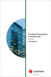 A Guide to Hong Kong Conveyancing - Ninth Edition (Student) cover