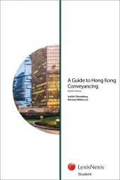 A Guide to Hong Kong Conveyancing - Eighth Edition (Student) cover