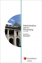 Administrative Law in Hong Kong - Second Edition (Student) cover