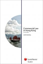 Commercial Law in Hong Kong - Second Edition (Student) cover
