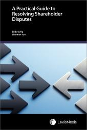 A Practical Guide to Resolving Shareholder Disputes cover