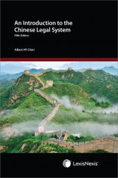 An Introduction to the Chinese Legal System - Fifth Edition cover