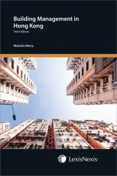 Building Management in Hong Kong - Third Edition  cover