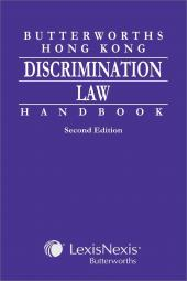 Butterworths Hong Kong Discrimination Law Handbook - Second Edition cover