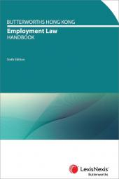 Butterworths Hong Kong Employment Law Handbook – Sixth Edition cover