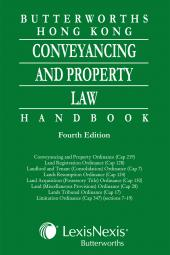 Butterworths Hong Kong Conveyancing and Property Law Handbook - Fourth Edition  cover