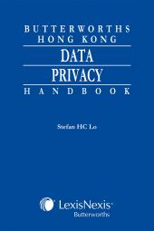 Butterworths Hong Kong Data Privacy Handbook cover