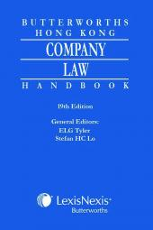 Butterworths Hong Kong Company Law Handbook - 19th Edition cover