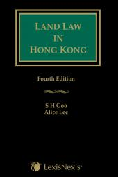 Land Law in Hong Kong - Fourth Edition cover
