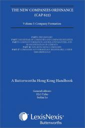 New Companies Ordinance (Cap 622), A Butterworths Hong Kong Handbook Vol. I - Company Formation cover