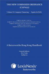 New Companies Ordinance (Cap 622), A Butterworths Hong Kong Handbook Vol. II - Company Financing - Equity and Debt cover