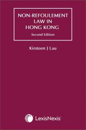 Non-Refoulement Law in Hong Kong - Second Edition cover