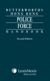 Butterworths Hong Kong Police Force Handbook - Second Edition cover