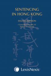 Sentencing in Hong Kong - Eighth Edition cover