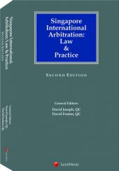 Singapore International Arbitration: Law & Practice - Second Edition cover